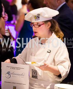 Halle Taylor, Best Buddies sous chef Salamander Resort & Spa. Photo by Erin Schaff. 2016 Best Buddies Capital Region Prom. Carnegie Library. May 13, 2016.