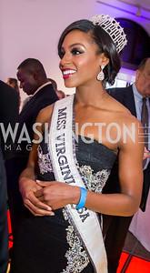Miss Virginia USA Desiree Williams. Photo by Erin Schaff. 2016 Best Buddies Capital Region Prom. Carnegie Library. May 13, 2016.