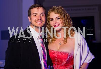 John Strocko, Melissa Wilson. Photo by Erin Schaff. 2016 Best Buddies Capital Region Prom. Carnegie Library. May 13, 2016.