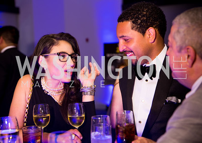 Vanessa Daniel, Nicholas Jordan. Photo by Erin Schaff. 2016 Best Buddies Capital Region Prom. Carnegie Library. May 13, 2016.