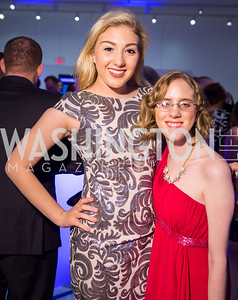 Christina Burnley, Gabriele Bastin. Photo by Erin Schaff. 2016 Best Buddies Capital Region Prom. Carnegie Library. May 13, 2016.