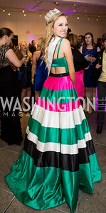 Miss Virginia Teen USA Gracyn Blackmore. Photo by Erin Schaff. 2016 Best Buddies Capital Region Prom. Carnegie Library. May 13, 2016.