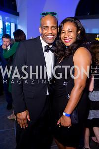Reggie and Nita Davis. Photo by Erin Schaff. 2016 Best Buddies Capital Region Prom. Carnegie Library. May 13, 2016.
