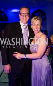 Carl Boocks, Stacy Brown. Photo by Erin Schaff. 2016 Best Buddies Capital Region Prom. Carnegie Library. May 13, 2016.