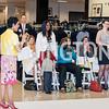 Andrea Roane, Martina Atabong, Hela Baer. Photo by Tony Powell. Bloomingdales Fashion Show. April 24, 2016