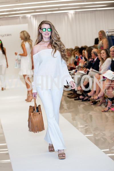 Casandra Tressler. Photo by Tony Powell. Bloomingdales Fashion Show. April 24, 2016