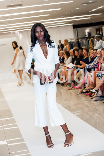 Jacqueline Akoko. Photo by Tony Powell. Bloomingdales Fashion Show. April 24, 2016
