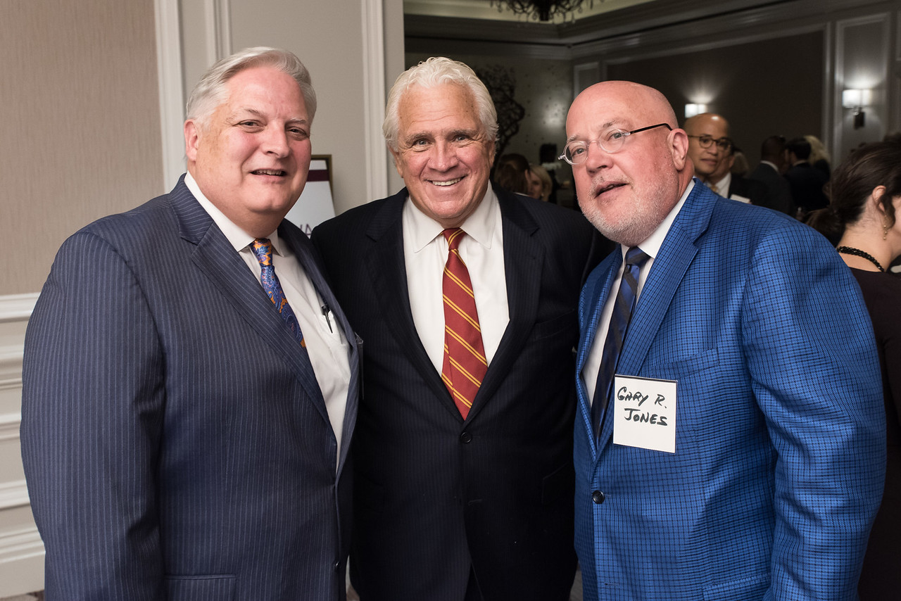 Gary Jones, Senator Mike Miller, Gerry Evans