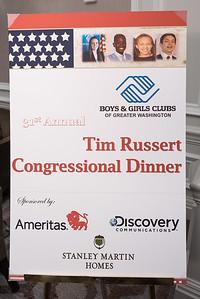 Tim Russert Congressional Dinner