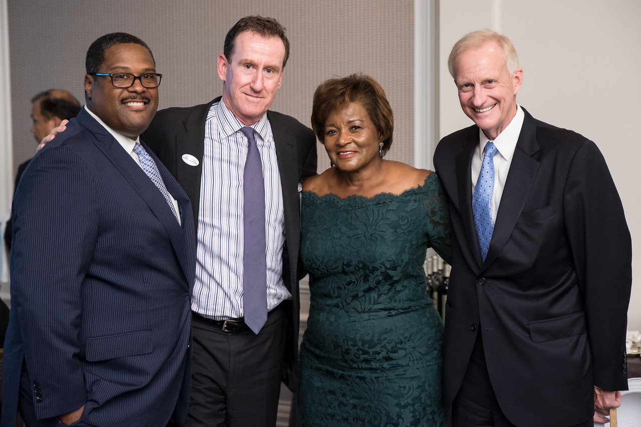 Emmanuel Bailey, Ross Bierkan, Beverly Perry, Jack Evans