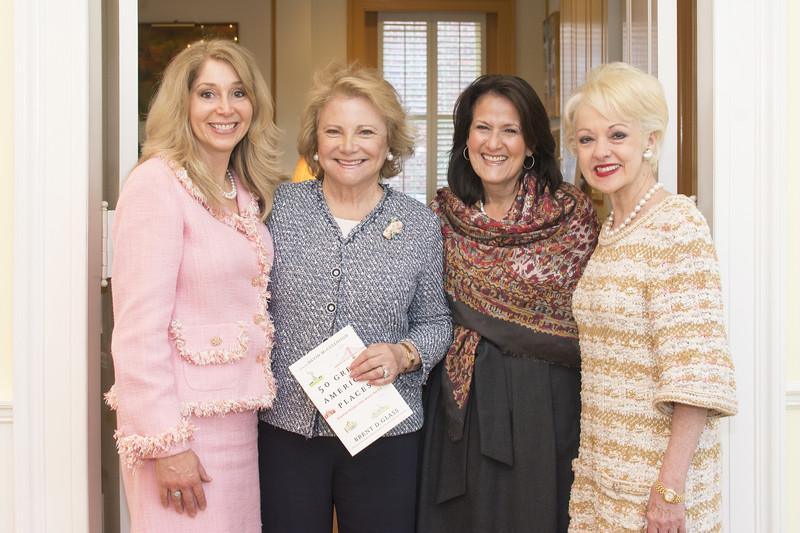 Janet Pitt, Mary Mochary, Anita McBride, Carol Lascaris