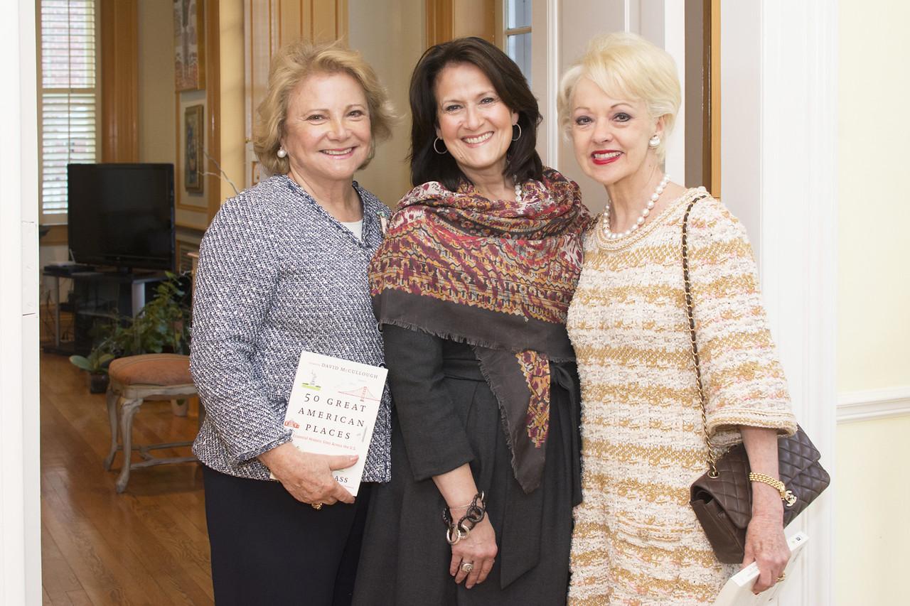 Mary Mochary, Anita McBride, Carol Lascaris