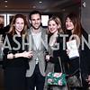 Terrell McSweeny, Van Bloys, Marissa Mitrovich, Pamela Sorensen. Photo by Tony Powell. Jay Newton-Small Book Party. Cafe Milano. January 10, 2016