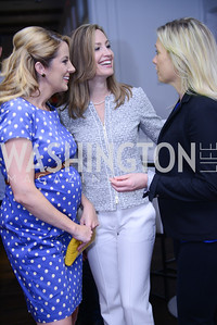 Meghan Hughes, Jill Melnicki, Lisa Throckmorton. Photo by Ben Droz. White House Correspondents' House of Code Brunch hosted by Buzzfeed and App Developers Alliance. Kinship Restaurant. April 30, 2016.