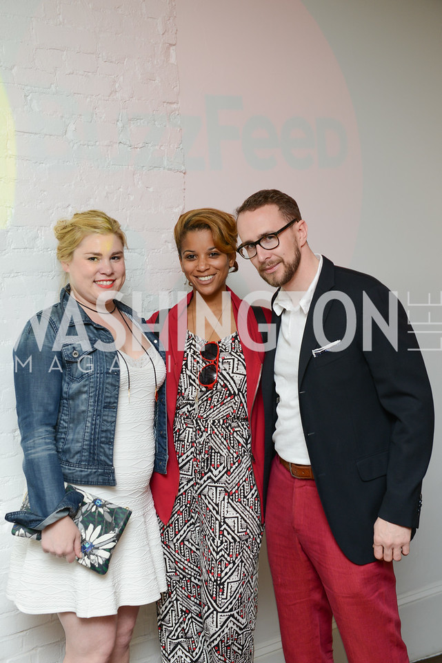 Photo by Ben Droz. White House Correspondents' House of Code Brunch hosted by Buzzfeed and App Developers Alliance. Kinship Restaurant. April 30, 2016.