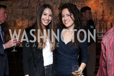 Karina Gutierrez, Sarah Abudene. Photo by Tony Powell. CDA 10th Anniversary. Hamilton Live. November 13, 2016