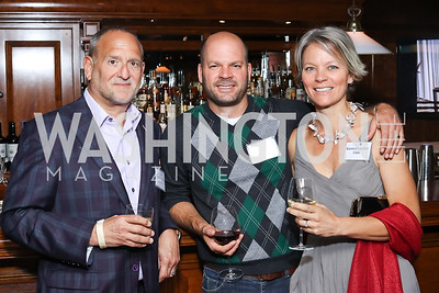 Scott Gilbert, Ben Cain, Karen Chandler Cain. Photo by Tony Powell. CDA 10th Anniversary. Hamilton Live. November 13, 2016