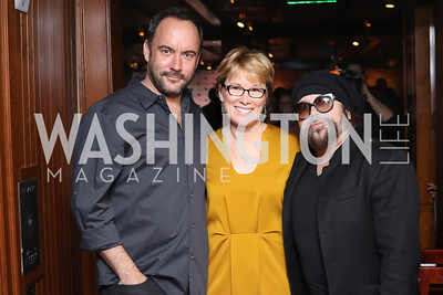 Dave Matthews, Sarah Stephens, Carlos Varela. Photo by Tony Powell. CDA 10th Anniversary. Hamilton Live. November 13, 2016