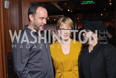 Dave Matthews, Sarah Stephens, Carlos Varela. Photo by Tony Powell. CDA 10th Anniversary. Hamilton Live. November 13, 2016
