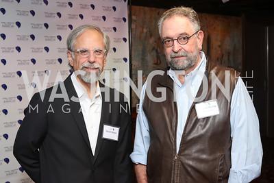 David Dreyer, Conrad Martin. Photo by Tony Powell. CDA 10th Anniversary. Hamilton Live. November 13, 2016