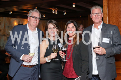 Ewout and Marketa Leeuwenberg, Diane Blamchong, James Clemans. Photo by Tony Powell. CDA 10th Anniversary. Hamilton Live. November 13, 2016