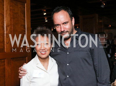 NEA Chairman Jane Chu, Dave Matthews. Photo by Tony Powell. CDA 10th Anniversary. Hamilton Live. November 13, 2016