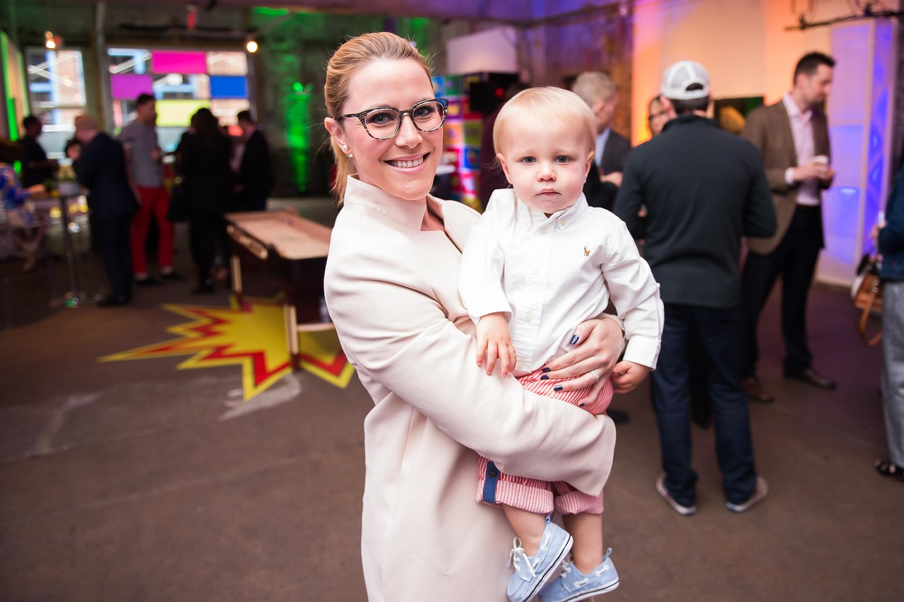 S.E. Cupp and Son. CNN Political Hangover. Photo by Joy Asico. Long View Gallery. May 1, 2016