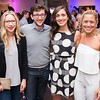 Emily Schlichting, Jeff Solnet, AnnaMaria Pietro, Kelly Cohen. CNN Political Hangover. Photo by Joy Asico. Long View Gallery. May 1, 2016