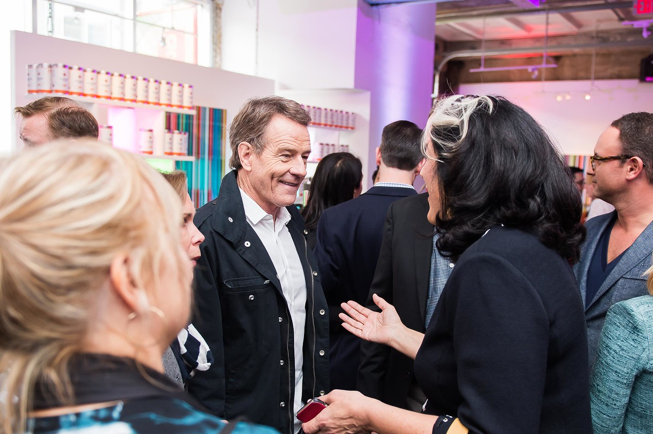 Bryan Cranston. CNN Political Hangover. Photo by Joy Asico. Long View Gallery. May 1, 2016