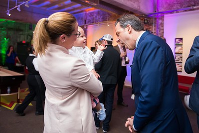 S.E. Cupp and Jake Tapper. CNN Political Hangover. Photo by Joy Asico. Long View Gallery. May 1, 2016