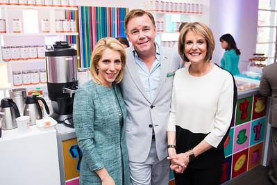 Dana Bash, Spencer Garrett, Gloria Borger. CNN Political Hangover. Photo by Joy Asico. Long View Gallery. May 1, 2016