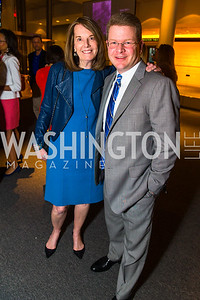 Carol A. Melton, Sam Fiest, . Photo by Alfredo Flores. CNN Politics Campaign 2016 Like Share, Elect. Newseum. April 18, 2016