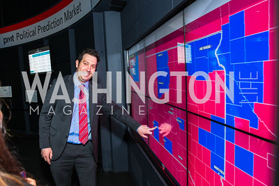 Jayson Braude. Photo by Alfredo Flores. CNN Politics Campaign 2016 Like Share, Elect. Newseum. April 18, 2016