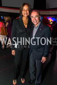 Pam Galloway-Tabb, Dick Cattani. Photo by Alfredo Flores. CNN Politics Campaign 2016: Like Share, Elect. Newseum. April 18, 2016