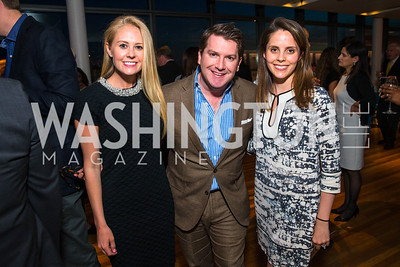 Kristin Adderson, Jay Shaylor, Abigail Crutchfield. Photo by Alfredo Flores. CNN Politics Campaign 2016 Like Share, Elect. Newseum. April 18, 2016