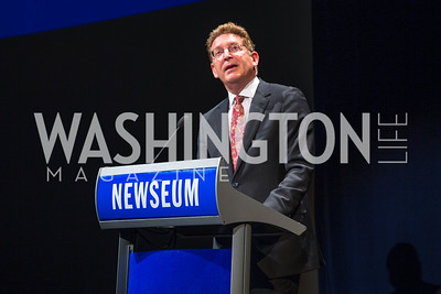 Jeffrey Herbst. Photo by Alfredo Flores. CNN Politics Campaign 2016 Like Share, Elect. Newseum. April 18, 2016