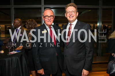 Bob Haiman, Jeffrey Herbst, . Photo by Alfredo Flores. CNN Politics Campaign 2016 Like Share, Elect. Newseum. April 18, 2016
