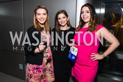 Sophie Tatum, Daniella Diaz, Deena Zeina Zaru, . Photo by Alfredo Flores. CNN Politics Campaign 2016 Like Share, Elect. Newseum. April 18, 2016