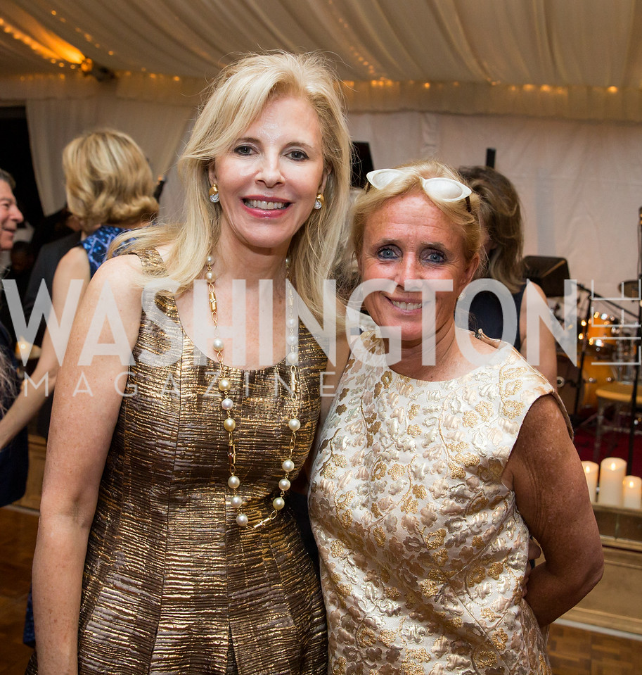 Jane Cafritz, Rep. Debbie Dingell. Photo by Erin Schaff. Cafritz Cocktails. The Home of Jane and Calvin Cafritz. September 10, 2016.