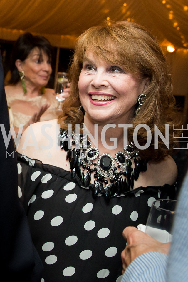 Ann Hand. Photo by Erin Schaff. Cafritz Cocktails. The Home of Jane and Calvin Cafritz. September 10, 2016.