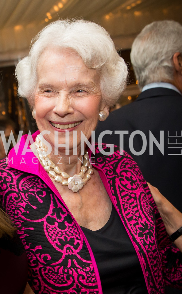 Marjorie Billington. Photo by Erin Schaff. Cafritz Cocktails. The Home of Jane and Calvin Cafritz. September 10, 2016.