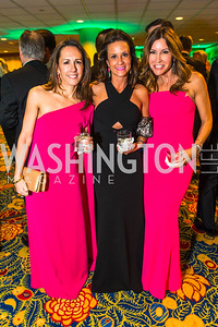 Suzette O'Conner, Raha Lee, Ann Kane. Photo by Alfredo Flores. Catholic Charities Gala 2016. Washington Marriott Wardman Park Hotel. April 30, 2016