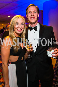 Chelsea Rutherford, Bobby Dwyer. Photo by Alfredo Flores. Catholic Charities Gala 2016. Washington Marriott Wardman Park Hotel. April 30, 2016