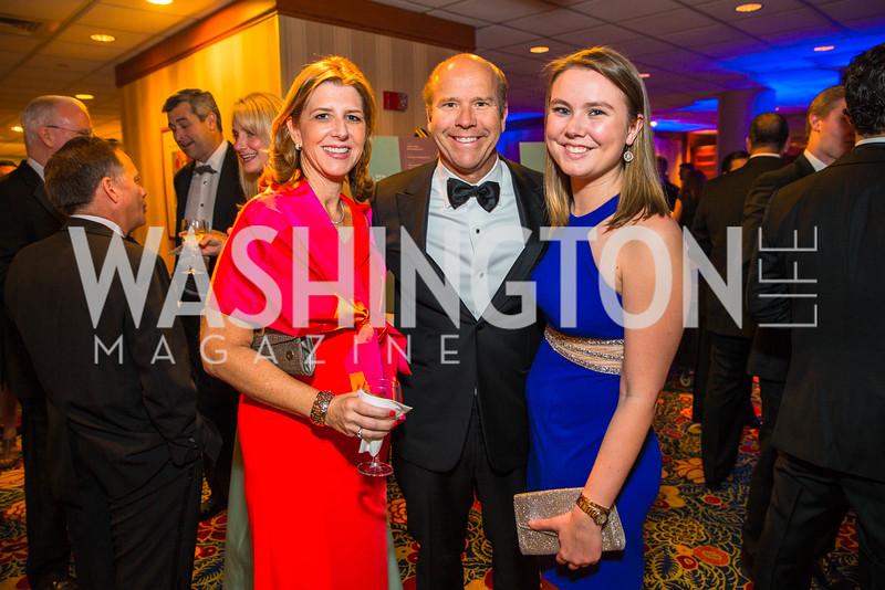 Stephanie Lennon, Congressman John Delaney , Summer Delaney. Photo by Alfredo Flores. Catholic Charities Gala 2016. Washington Marriott Wardman Park Hotel. April 30, 2016