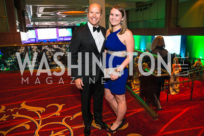 Congressman John Delaney , Summer Delaney. Photo by Alfredo Flores. Catholic Charities Gala 2016. Washington Marriott Wardman Park Hotel. April 30, 2016