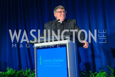 Msgr. John J. Enzler. Photo by Alfredo Flores. Catholic Charities Gala 2016. Washington Marriott Wardman Park Hotel. April 30, 2016