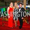 Katie Lemek, Kate Manders, Janathan Peel. Photo by Alfredo Flores. Catholic Charities Gala 2016. Washington Marriott Wardman Park Hotel. April 30, 2016