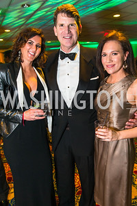 Kelly Shooshan, Sean Murphy, Jennifer Ratajczak. Photo by Alfredo Flores. Catholic Charities Gala 2016. Washington Marriott Wardman Park Hotel. April 30, 2016