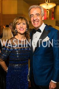 Alejandra Segura, Enrique Segura. Photo by Alfredo Flores. Catholic Charities Spanish Catholic Center Gala 2016. Ronald Reagan Building. October 28, 2016