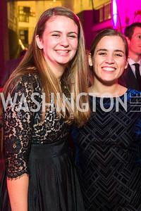 Maria Leyva, Christina Fairbaks. Photo by Alfredo Flores. Catholic Charities Spanish Catholic Center Gala 2016. Ronald Reagan Building. October 28, 2016